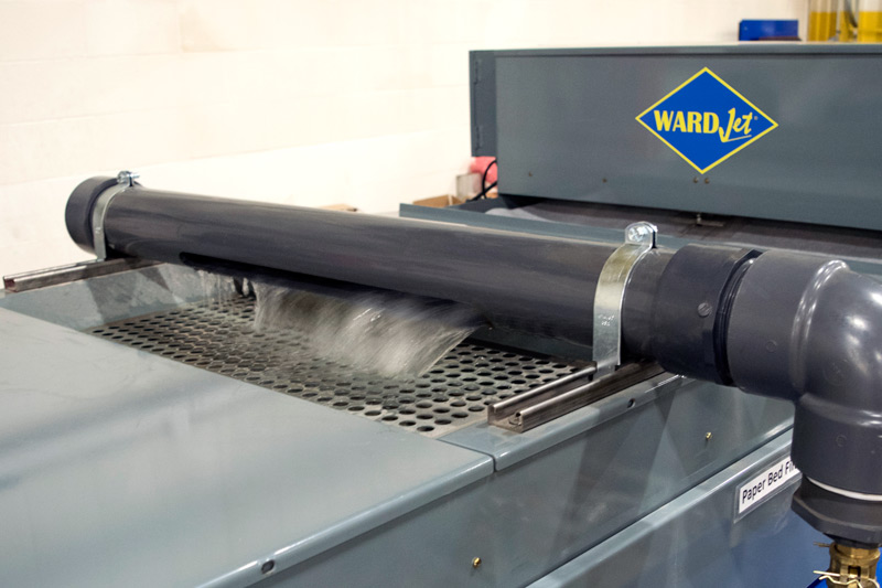 WARDJet - Waterjet Abrasive Removal System